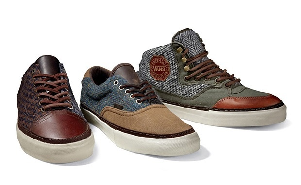 Harris Tweed Vans
