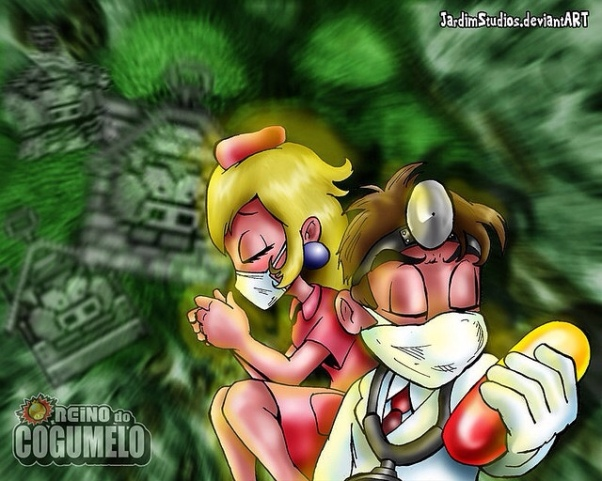 Mario and the Swine Flu Poster