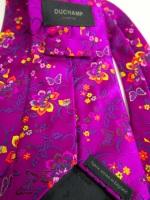 Duchamp Floral Tie