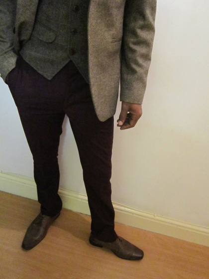 Harris Tweed Office Look